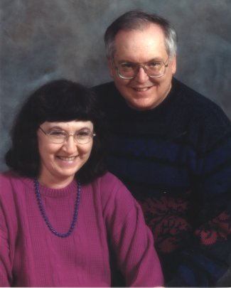 Author photo - John Barach Sr with wife Donna